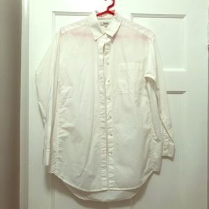 Madewell Oversized White Button Down